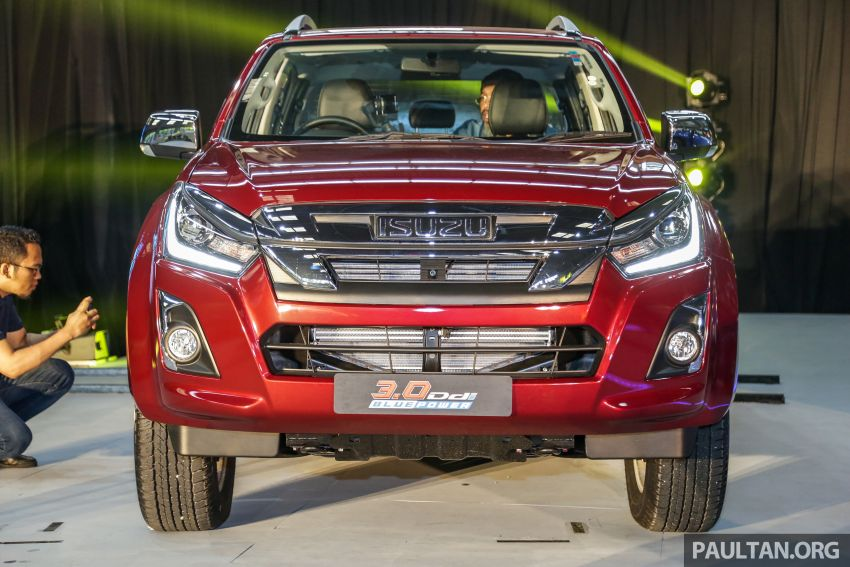 2019 Isuzu D-Max facelift launched – new 150 PS/350 Nm 1.9L Ddi, six airbags for 3.0L, RM80k to RM121k Image #1017968