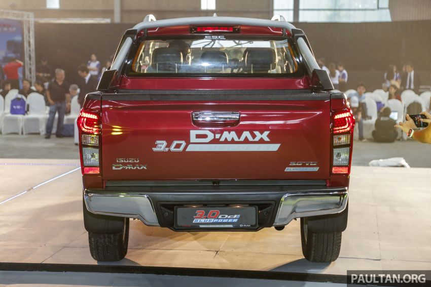2019 Isuzu D-Max facelift launched – new 150 PS/350 Nm 1.9L Ddi, six airbags for 3.0L, RM80k to RM121k Image #1017969