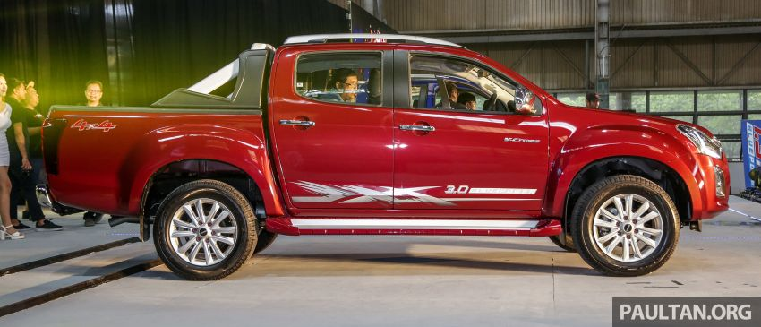 2019 Isuzu D-Max facelift launched – new 150 PS/350 Nm 1.9L Ddi, six airbags for 3.0L, RM80k to RM121k Image #1017970
