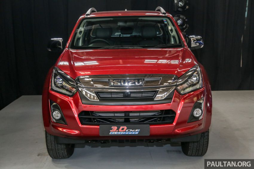 2019 Isuzu D-Max facelift launched – new 150 PS/350 Nm 1.9L Ddi, six airbags for 3.0L, RM80k to RM121k Image #1017114