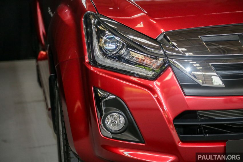 2019 Isuzu D-Max facelift launched – new 150 PS/350 Nm 1.9L Ddi, six airbags for 3.0L, RM80k to RM121k Image #1017116