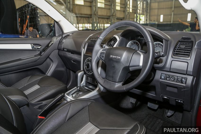 2019 Isuzu D-Max facelift launched – new 150 PS/350 Nm 1.9L Ddi, six airbags for 3.0L, RM80k to RM121k Image #1017136