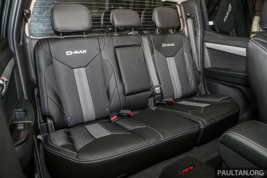 2019 Isuzu D-Max facelift launched – new 150 PS/350 Nm 1.9L Ddi, six airbags for 3.0L, RM80k to RM121k Image #1017158