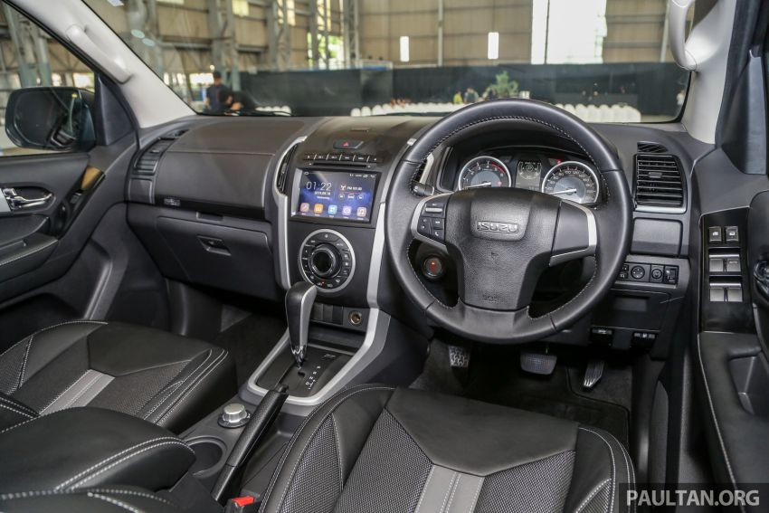 2019 Isuzu D-Max facelift launched – new 150 PS/350 Nm 1.9L Ddi, six airbags for 3.0L, RM80k to RM121k Image #1017137