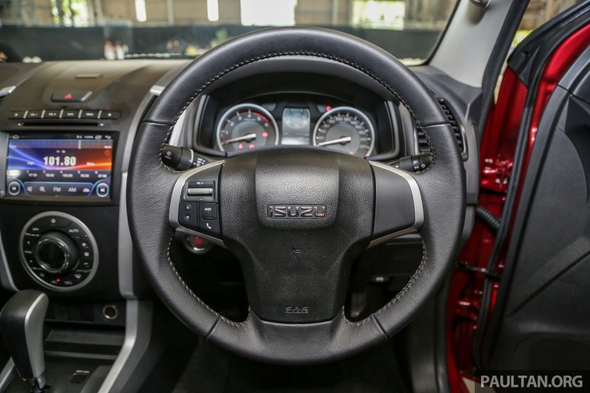 2019 Isuzu D-Max facelift launched – new 150 PS/350 Nm 1.9L Ddi, six airbags for 3.0L, RM80k to RM121k Image #1017139