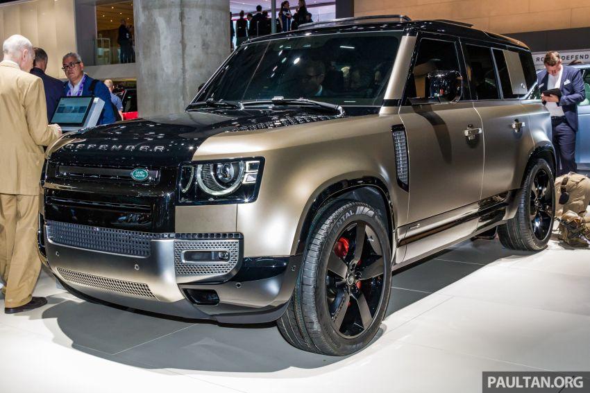2020 Land Rover Defender debuts – aluminium monocoque, 3.0L mild-hybrid, OTA software support Image #1014440