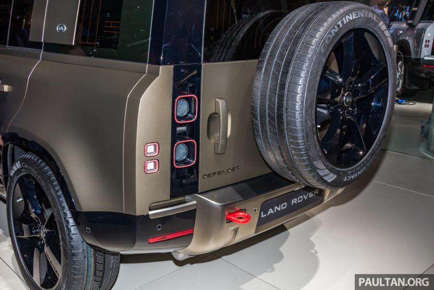 2020 Land Rover Defender debuts – aluminium monocoque, 3.0L mild-hybrid, OTA software support Image #1014451