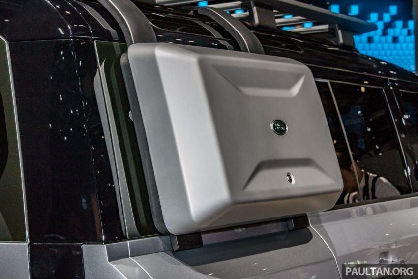 2020 Land Rover Defender debuts – aluminium monocoque, 3.0L mild-hybrid, OTA software support Image #1014454