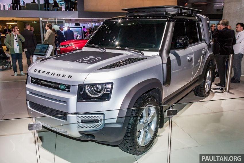 2020 Land Rover Defender debuts – aluminium monocoque, 3.0L mild-hybrid, OTA software support Image #1014455