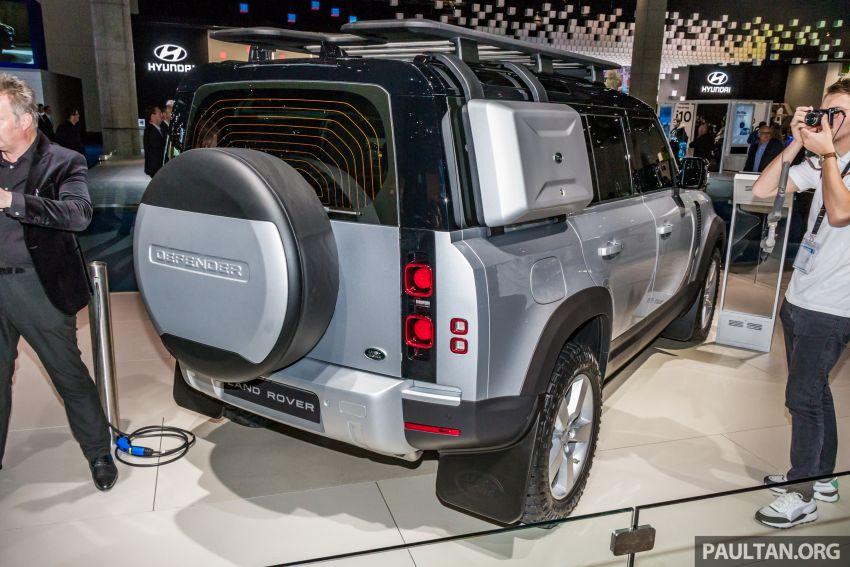 2020 Land Rover Defender debuts – aluminium monocoque, 3.0L mild-hybrid, OTA software support Image #1014456
