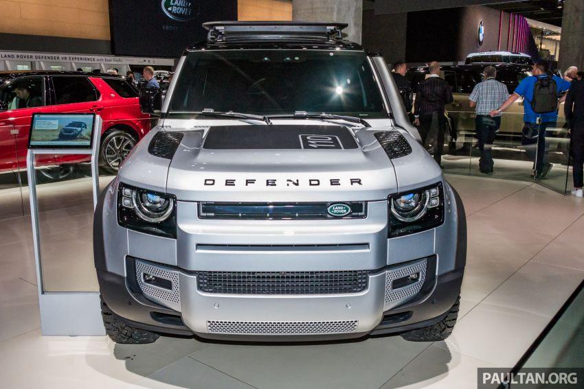 2020 Land Rover Defender debuts – aluminium monocoque, 3.0L mild-hybrid, OTA software support Image #1014457