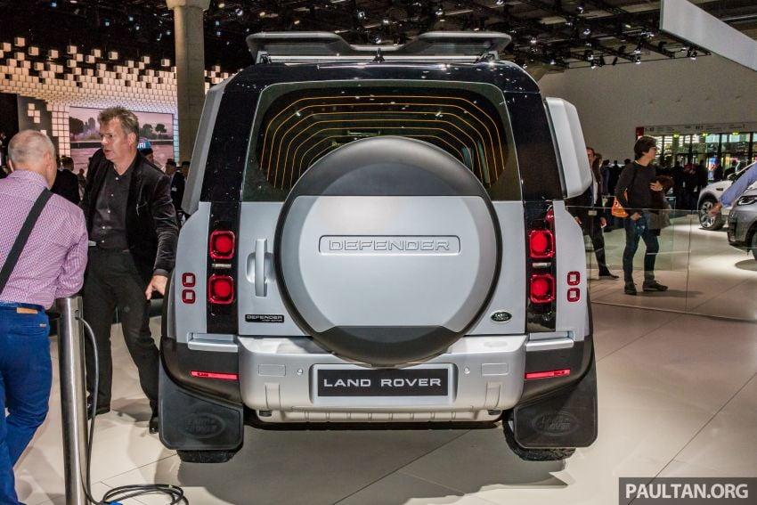 2020 Land Rover Defender debuts – aluminium monocoque, 3.0L mild-hybrid, OTA software support Image #1014458