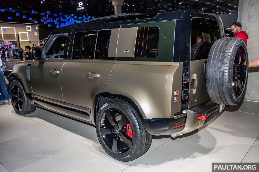 2020 Land Rover Defender debuts – aluminium monocoque, 3.0L mild-hybrid, OTA software support Image #1014441