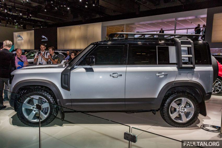 2020 Land Rover Defender debuts – aluminium monocoque, 3.0L mild-hybrid, OTA software support Image #1014459