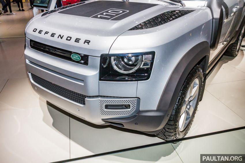2020 Land Rover Defender debuts – aluminium monocoque, 3.0L mild-hybrid, OTA software support Image #1014460