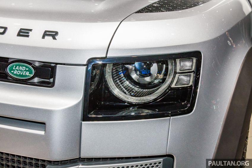2020 Land Rover Defender debuts – aluminium monocoque, 3.0L mild-hybrid, OTA software support Image #1014461