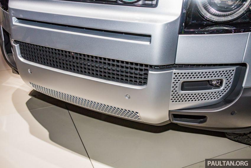 2020 Land Rover Defender debuts – aluminium monocoque, 3.0L mild-hybrid, OTA software support Image #1014463