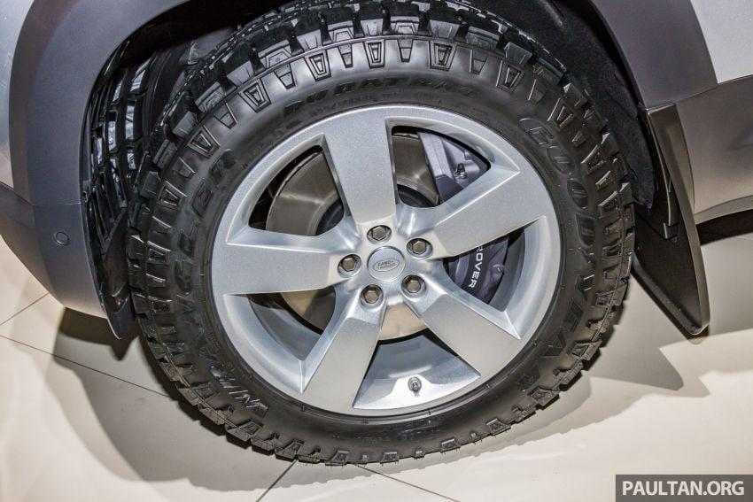 2020 Land Rover Defender debuts – aluminium monocoque, 3.0L mild-hybrid, OTA software support Image #1014465