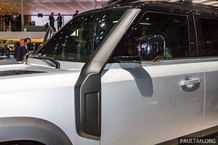 2020 Land Rover Defender debuts – aluminium monocoque, 3.0L mild-hybrid, OTA software support Image #1014466