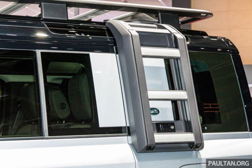 2020 Land Rover Defender debuts – aluminium monocoque, 3.0L mild-hybrid, OTA software support Image #1014467