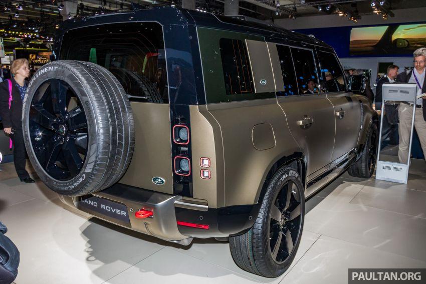 2020 Land Rover Defender debuts – aluminium monocoque, 3.0L mild-hybrid, OTA software support Image #1014442