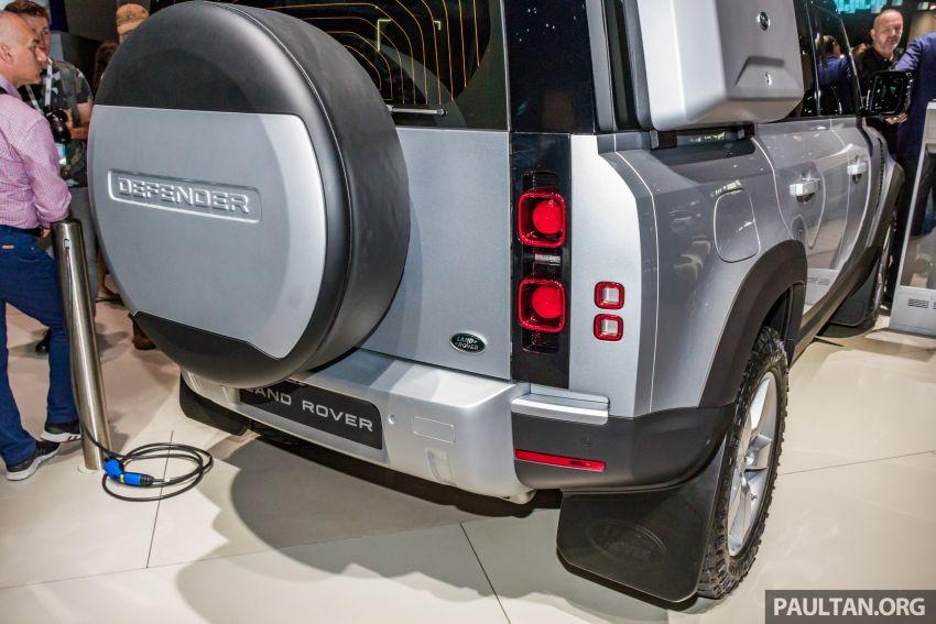 2020 Land Rover Defender debuts – aluminium monocoque, 3.0L mild-hybrid, OTA software support Image #1014470