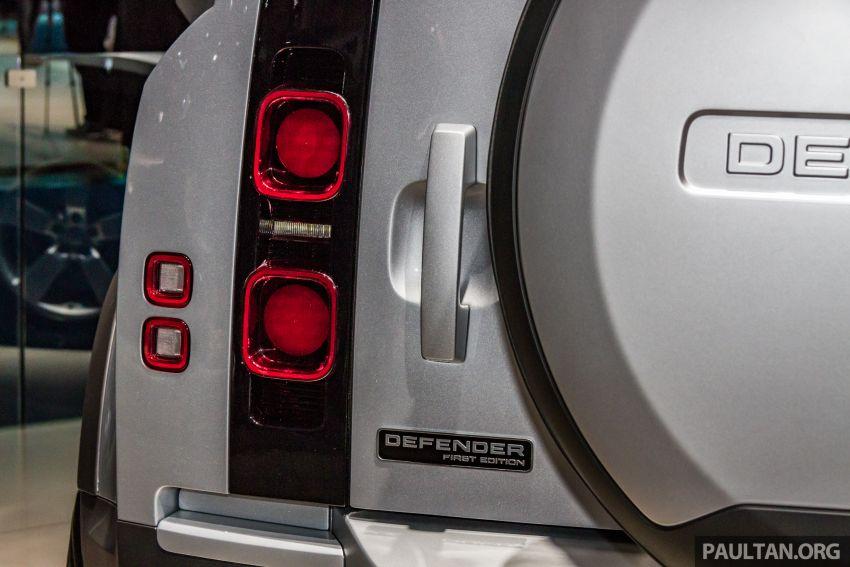 2020 Land Rover Defender debuts – aluminium monocoque, 3.0L mild-hybrid, OTA software support Image #1014471