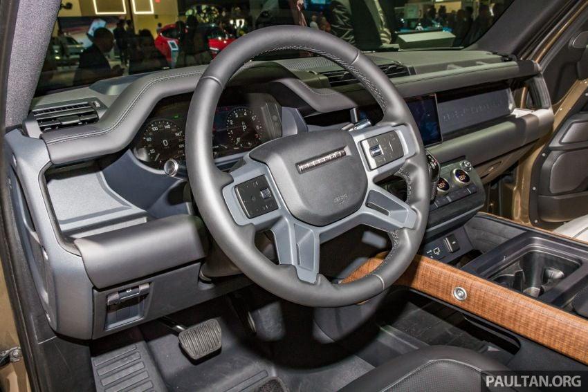 2020 Land Rover Defender debuts – aluminium monocoque, 3.0L mild-hybrid, OTA software support Image #1014472
