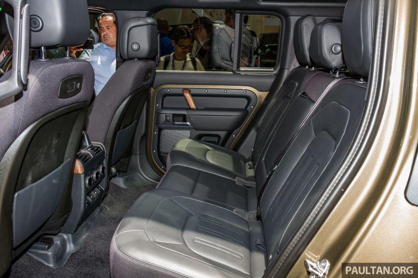 2020 Land Rover Defender debuts – aluminium monocoque, 3.0L mild-hybrid, OTA software support Image #1014475