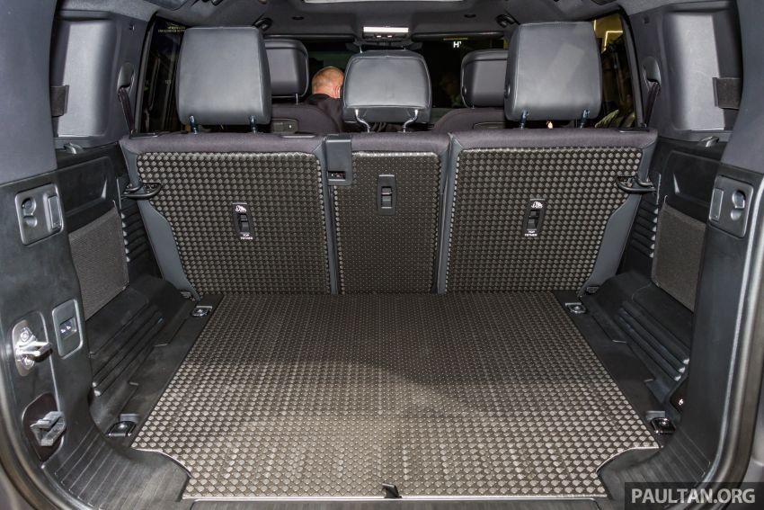 2020 Land Rover Defender debuts – aluminium monocoque, 3.0L mild-hybrid, OTA software support Image #1014478