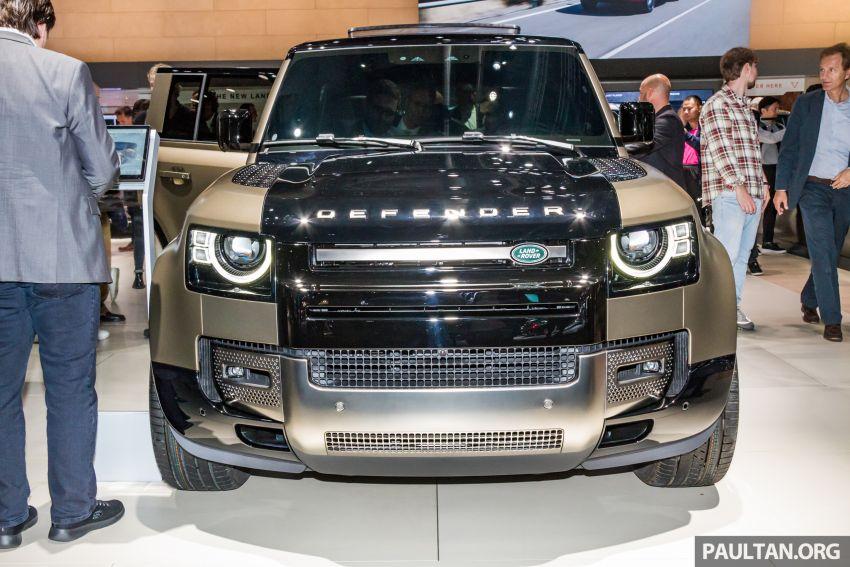 2020 Land Rover Defender debuts – aluminium monocoque, 3.0L mild-hybrid, OTA software support Image #1014443