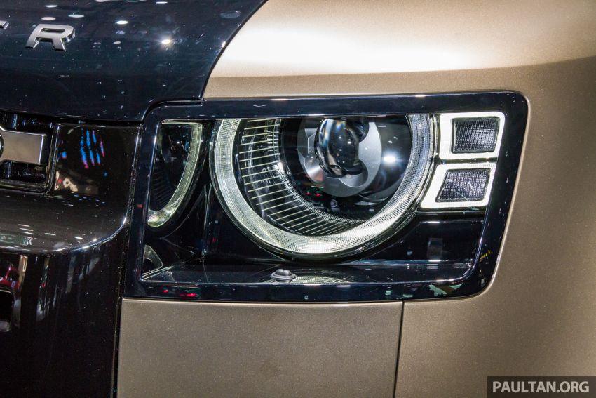 2020 Land Rover Defender debuts – aluminium monocoque, 3.0L mild-hybrid, OTA software support Image #1014444