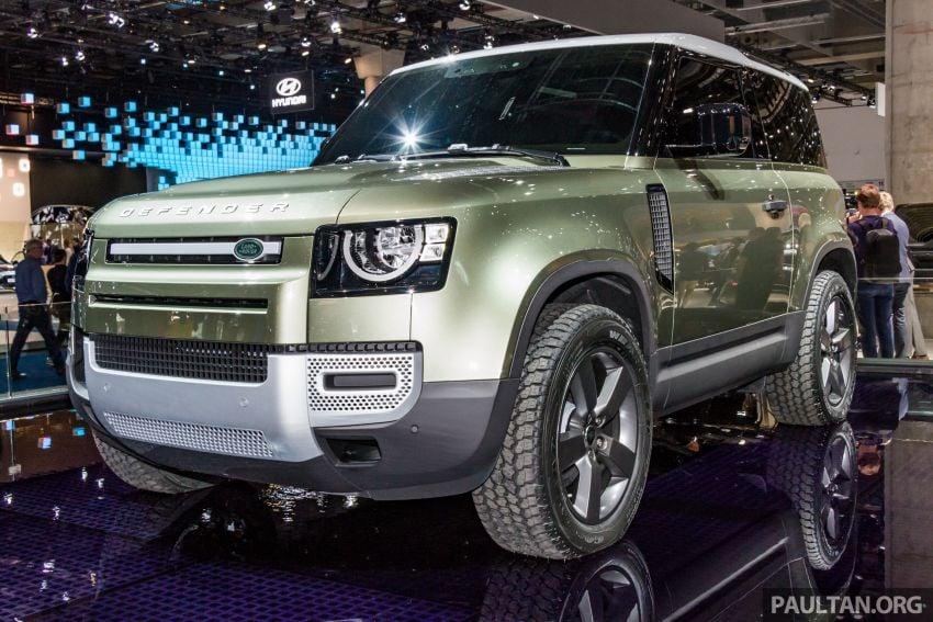 2020 Land Rover Defender debuts – aluminium monocoque, 3.0L mild-hybrid, OTA software support Image #1014420