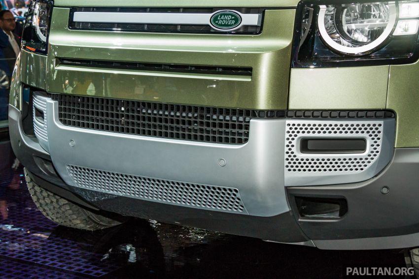 2020 Land Rover Defender debuts – aluminium monocoque, 3.0L mild-hybrid, OTA software support Image #1014429