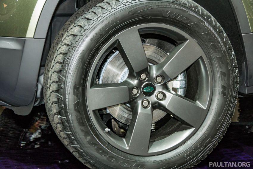 2020 Land Rover Defender debuts – aluminium monocoque, 3.0L mild-hybrid, OTA software support Image #1014430
