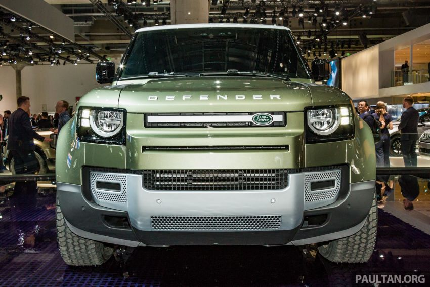 2020 Land Rover Defender debuts – aluminium monocoque, 3.0L mild-hybrid, OTA software support Image #1014423