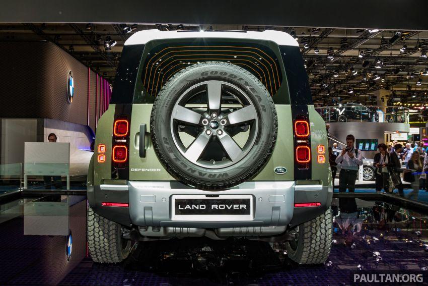 2020 Land Rover Defender debuts – aluminium monocoque, 3.0L mild-hybrid, OTA software support Image #1014424