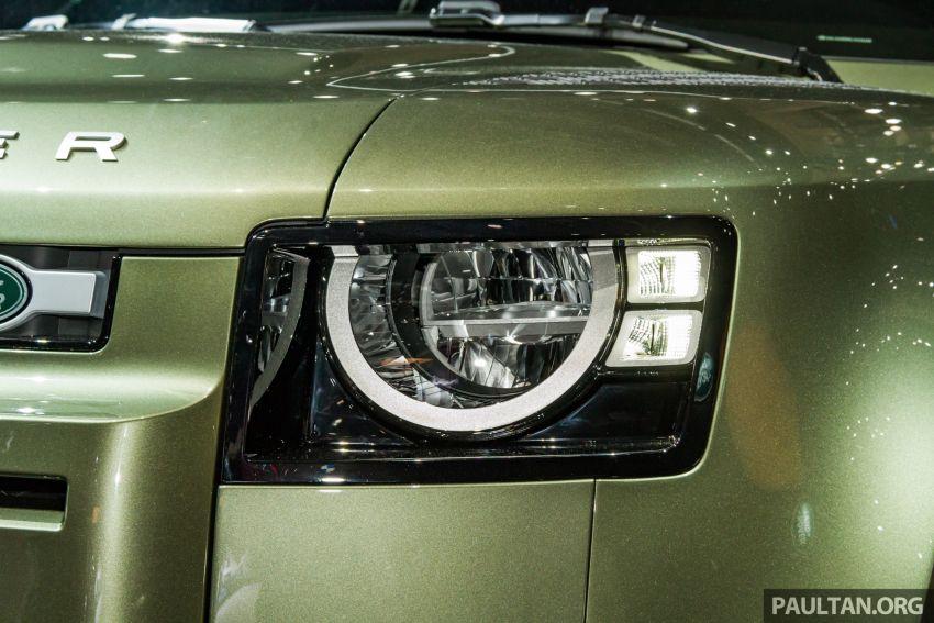 2020 Land Rover Defender debuts – aluminium monocoque, 3.0L mild-hybrid, OTA software support Image #1014427