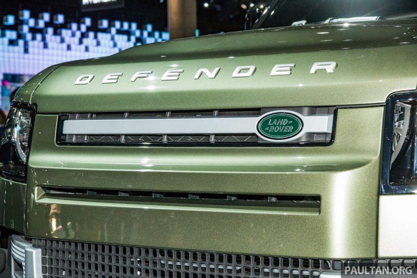 2020 Land Rover Defender debuts – aluminium monocoque, 3.0L mild-hybrid, OTA software support Image #1014428