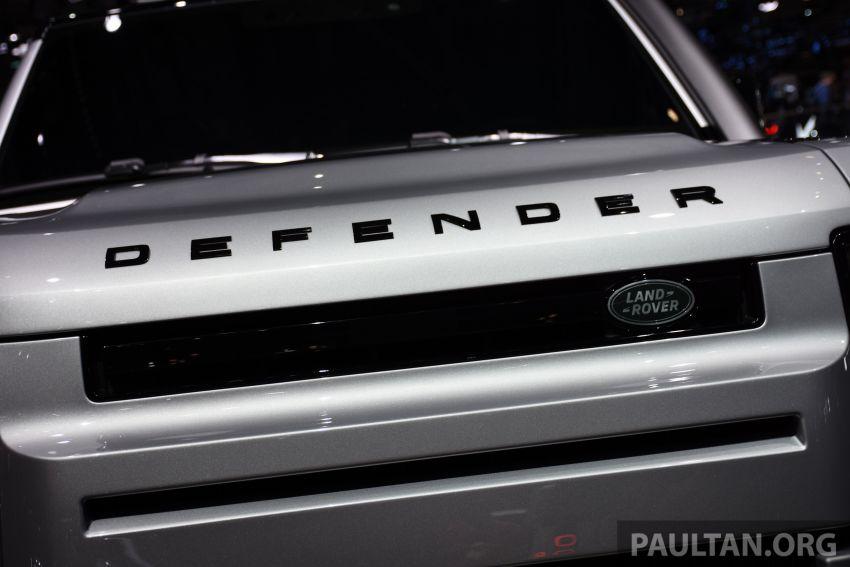 Land Rover Defender generasi baharu  muncul di Frankfurt 2019 – padat dengan segala teknologi terkini Image #1013342