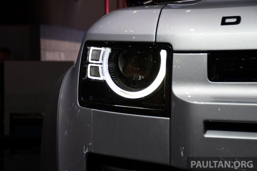 2020 Land Rover Defender debuts – aluminium monocoque, 3.0L mild-hybrid, OTA software support Image #1012961