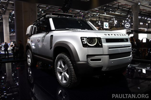 2020 Land Rover Discovery Is Built On The New Architecture >> 2020 Land Rover Defender Debuts Aluminium Monocoque 3 0l