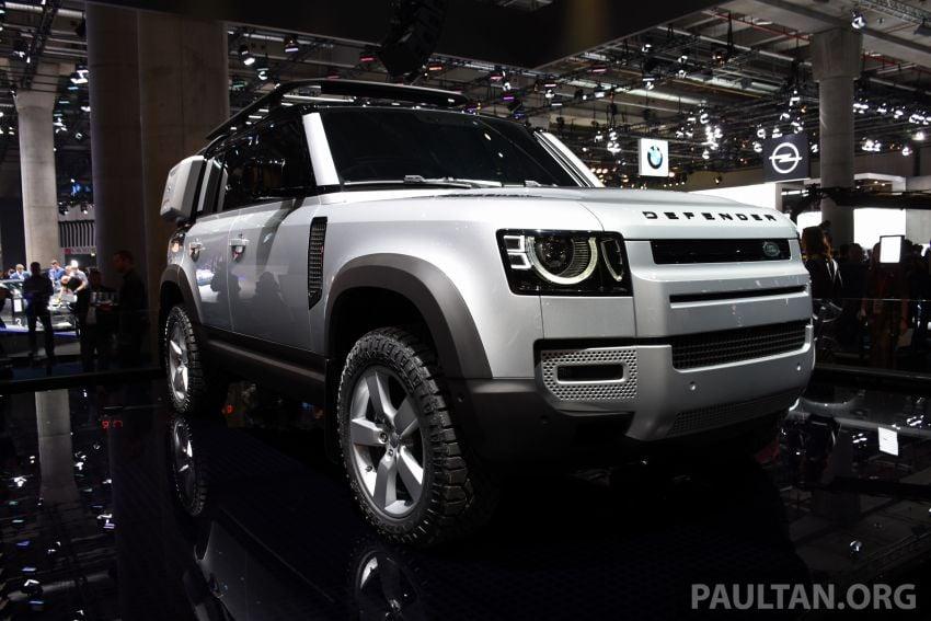 Land Rover Defender generasi baharu  muncul di Frankfurt 2019 – padat dengan segala teknologi terkini Image #1013345