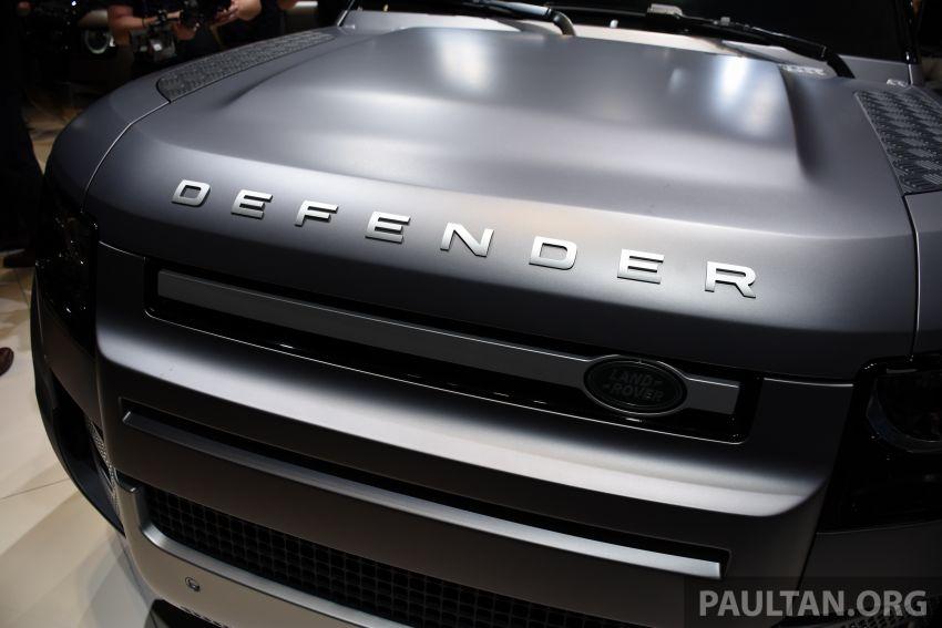 2020 Land Rover Defender debuts – aluminium monocoque, 3.0L mild-hybrid, OTA software support Image #1012989