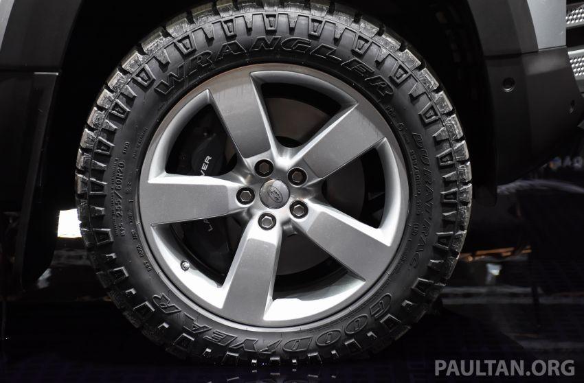2020 Land Rover Defender debuts – aluminium monocoque, 3.0L mild-hybrid, OTA software support Image #1012890