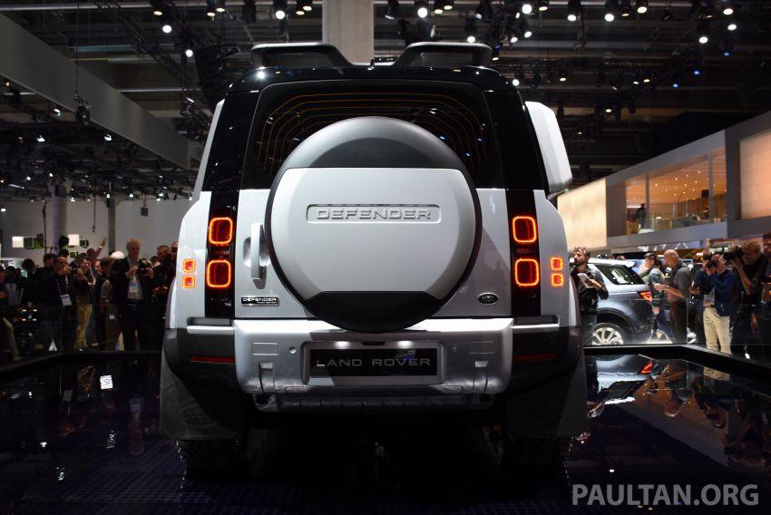 2020 Land Rover Defender debuts – aluminium monocoque, 3.0L mild-hybrid, OTA software support Image #1012896