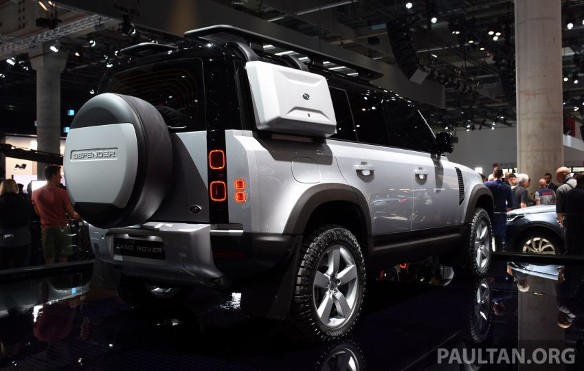 Land Rover Defender generasi baharu  muncul di Frankfurt 2019 – padat dengan segala teknologi terkini Image #1013337