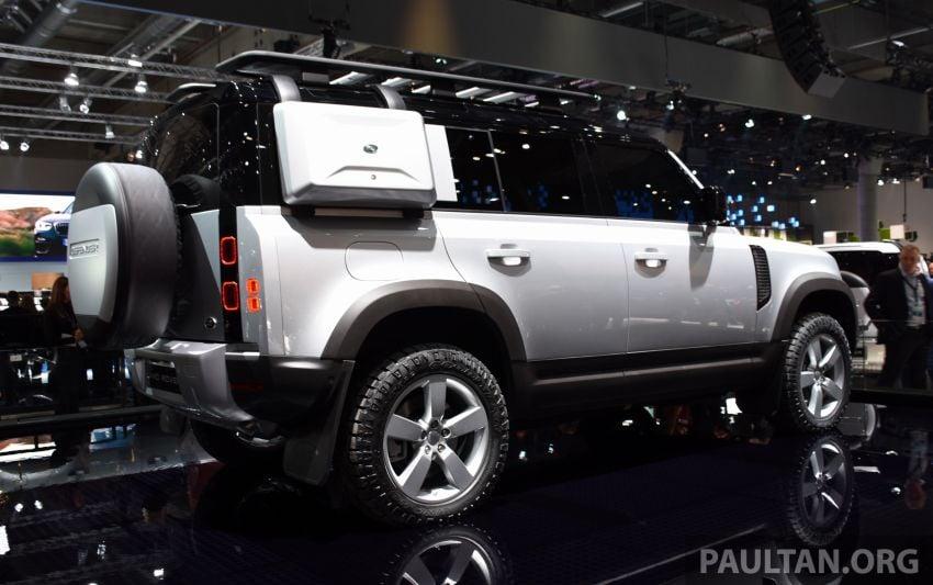 Land Rover Defender generasi baharu  muncul di Frankfurt 2019 – padat dengan segala teknologi terkini Image #1013339