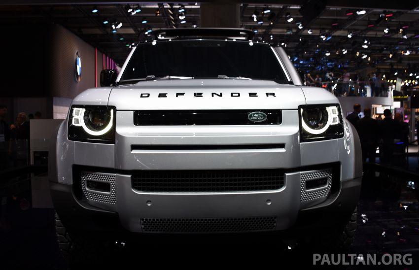 2020 Land Rover Defender debuts – aluminium monocoque, 3.0L mild-hybrid, OTA software support Image #1012943