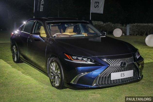 New Lexus ES 250 launched in Malaysia, from RM300k
